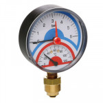 Icma 258 0-120° 0-4 bar 80 мм