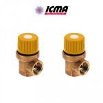 Предохранительные клапаны Icma S120