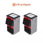 Твердотопливный котел Protech с плитой ТТП-Стандарт 15 кВт