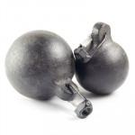 Гиря дымоходная с резьбой (гайка) - 1.9 кг